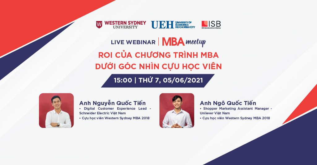 MBA Meetup: ROI của chương trình MBA dưới góc nhìn cựu học viên