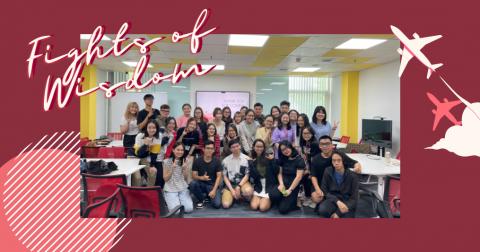 Buddy Program 2 – Flights of wisdom: Sinh viên đồng hành cùng sinh viên