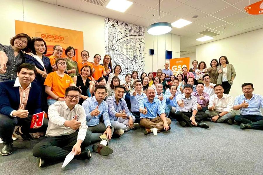 MBA For Success Lê Huỳnh Phương Thục với đội ngũ Guardian