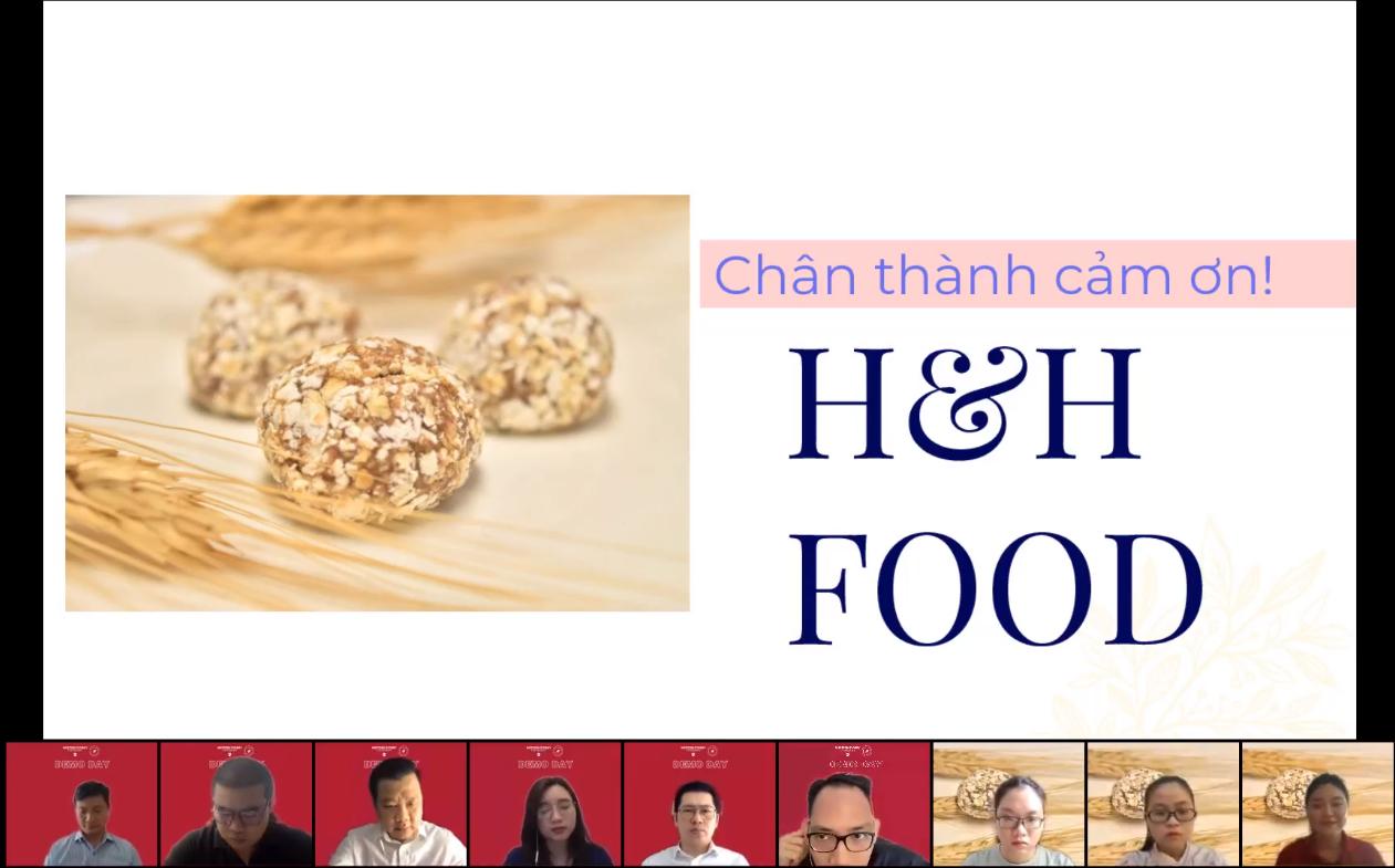 Nhóm H&H Foods xuất sắc gây ấn tượng với BGK và giành giải nhất chung cuộc đầy thuyết phục